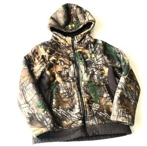 UNDER ARMOUR Mid Weight Camo Zip Up NN3